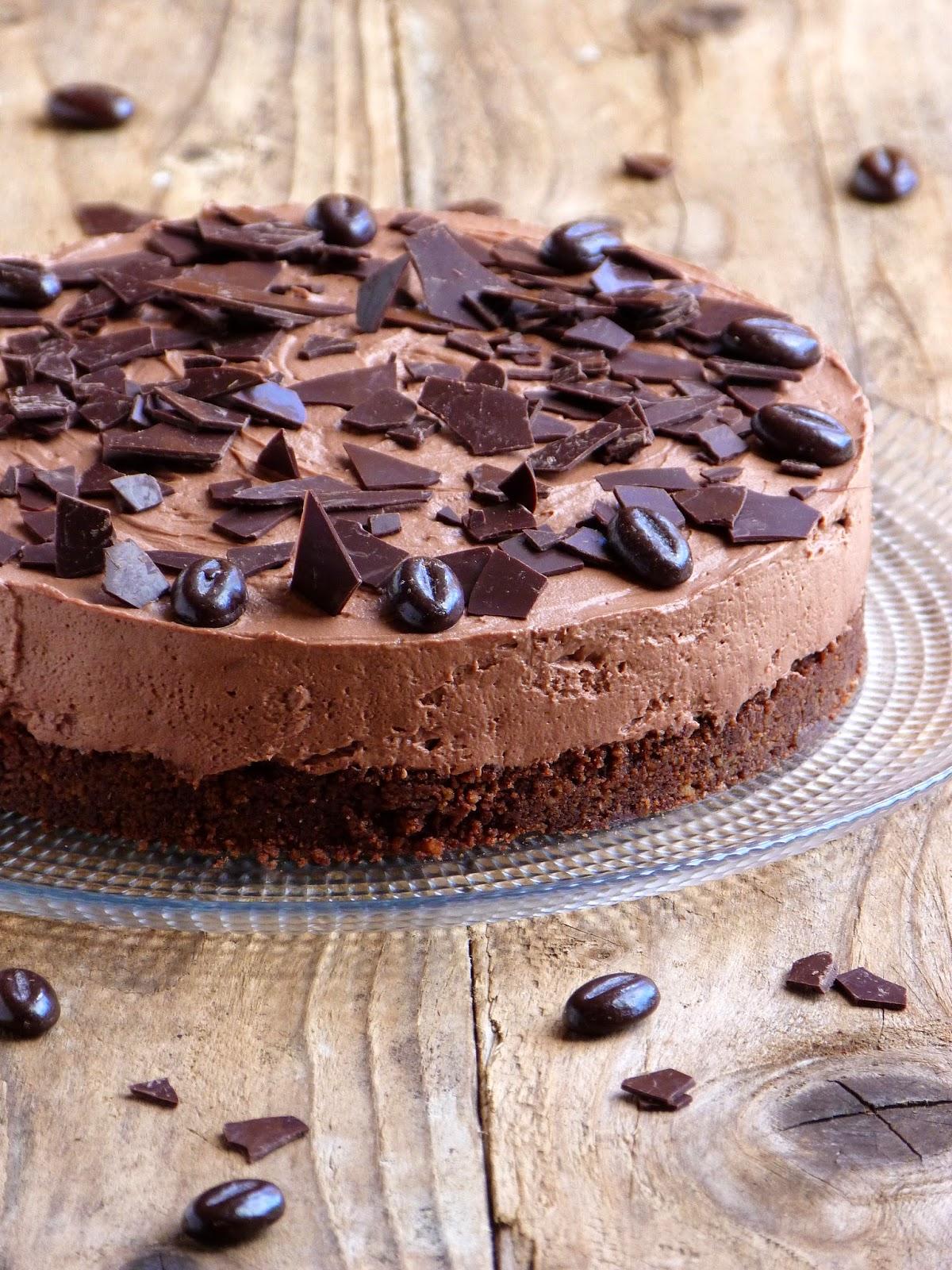le cheesecake au chocolat sans cuisson une valeur s re. Black Bedroom Furniture Sets. Home Design Ideas