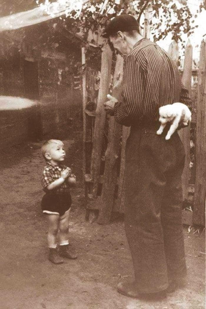 Série de photos en noir et blanc très émouvantes  5