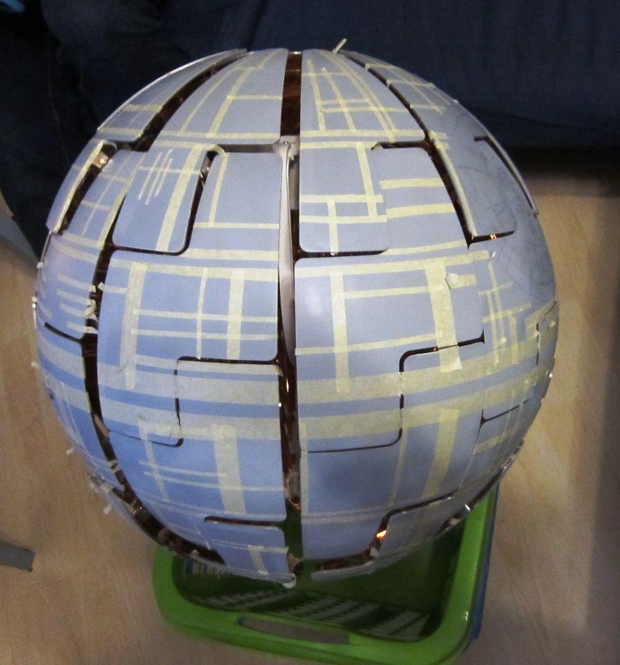 Fan De Star Wars Ce Couple Transforme Une Lampe Ikea En Etoile De