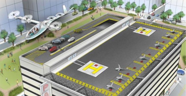 Uber débauche un ingénieur de la NASA pour concevoir ses taxis volants... La révolution est en marche ! Uber-flying-taxis1-1486546151