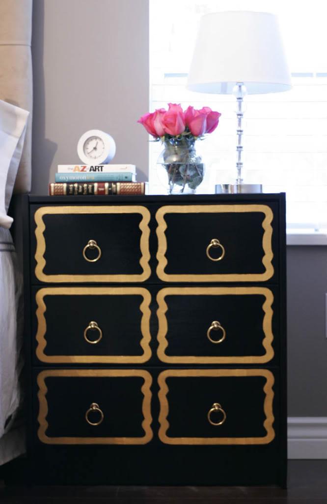 20 id es d co pour customiser votre vieille commode. Black Bedroom Furniture Sets. Home Design Ideas