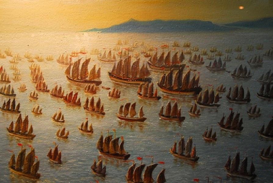 Il y a 500 ans, bien avant Christophe Colomb, l'Empire Chinois dominait toutes les mers du globe...Par Céline Gautier                      980x