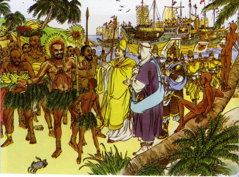 Il y a 500 ans, bien avant Christophe Colomb, l'Empire Chinois dominait toutes les mers du globe...Par Céline Gautier                      Img-1%20%281%29