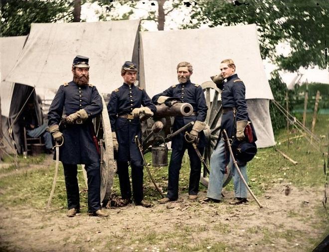 Vieilles de 150 ans, ces 20 images de la Guerre de Sécession renaissent en couleur...Par Jérémy B.   %24%20%281%29