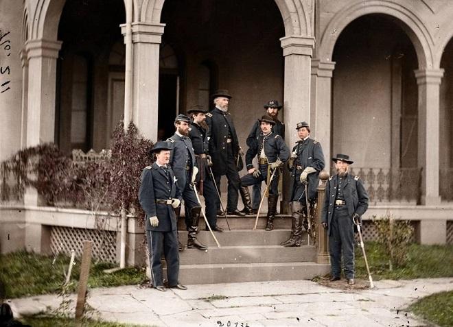 Vieilles de 150 ans, ces 20 images de la Guerre de Sécession renaissent en couleur...Par Jérémy B.   %24%20%2811%29