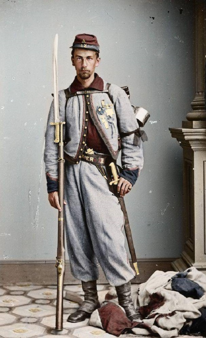 Vieilles de 150 ans, ces 20 images de la Guerre de Sécession renaissent en couleur...Par Jérémy B.   %24%20%2812%29
