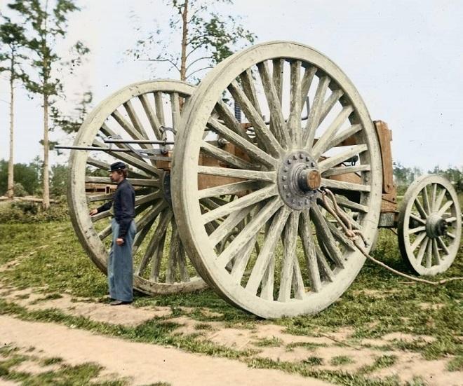 Vieilles de 150 ans, ces 20 images de la Guerre de Sécession renaissent en couleur...Par Jérémy B.   %24%20%282%29