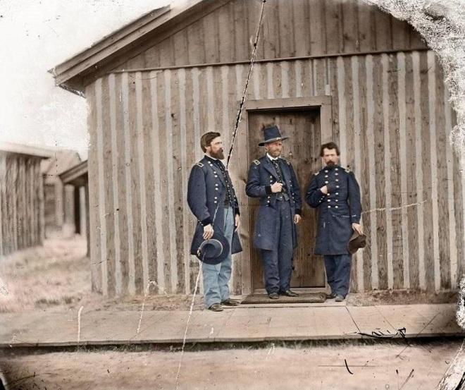 Vieilles de 150 ans, ces 20 images de la Guerre de Sécession renaissent en couleur...Par Jérémy B.   %24%20%288%29