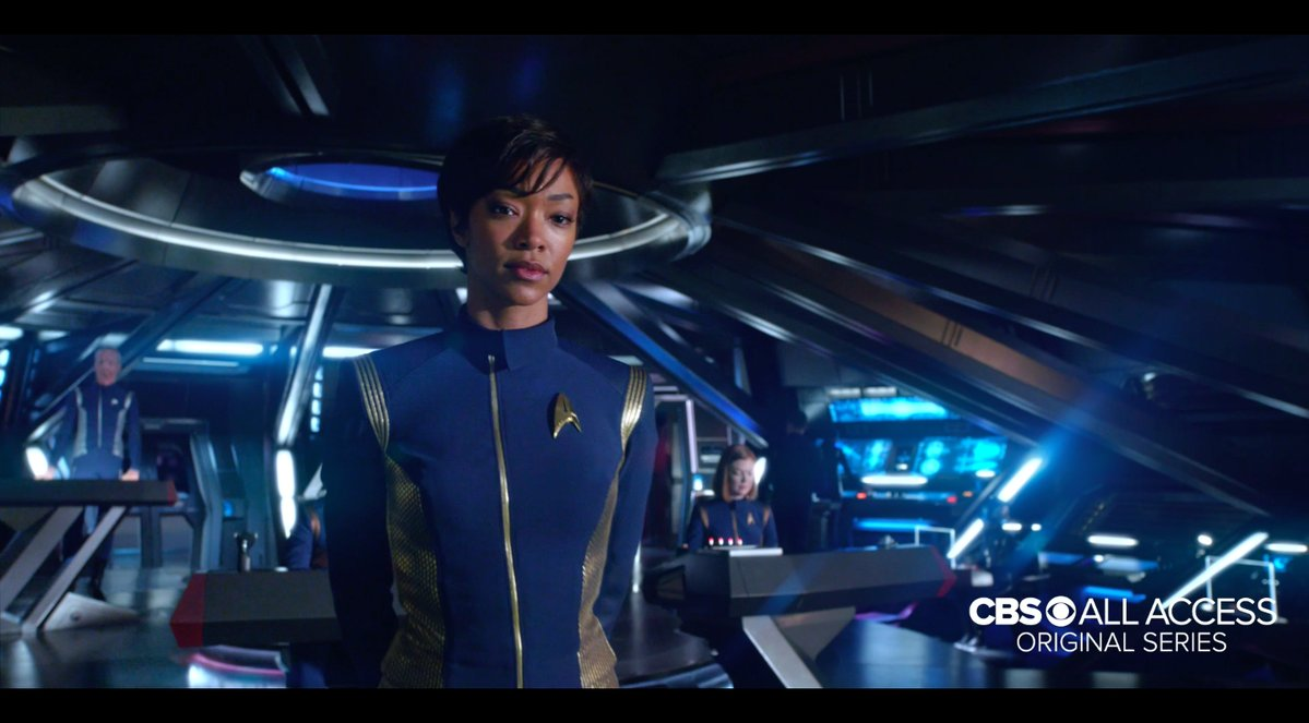 Premier trailer ambitieux pour la série Netflix — STAR TREK DISCOVERY