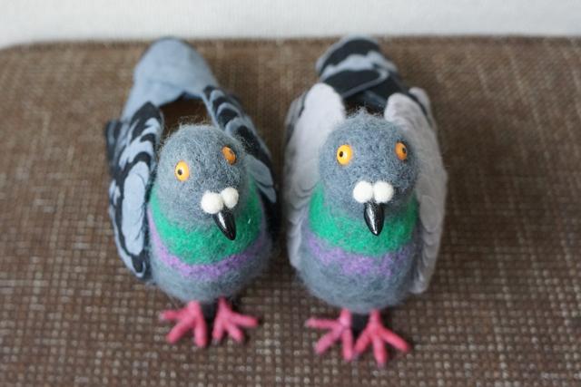 pour ne plus faire peur aux pigeons cette femme a d cid de se cr er une paire de chaussures. Black Bedroom Furniture Sets. Home Design Ideas