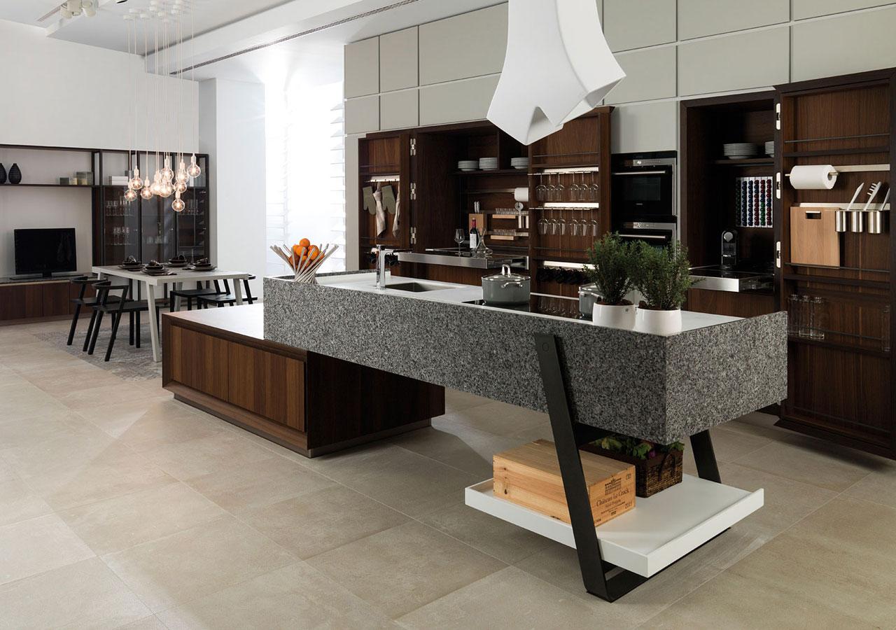 les 19 cuisines d 39 enfer qui vont vous donner envie de devenir un vrai chef toil la maison. Black Bedroom Furniture Sets. Home Design Ideas