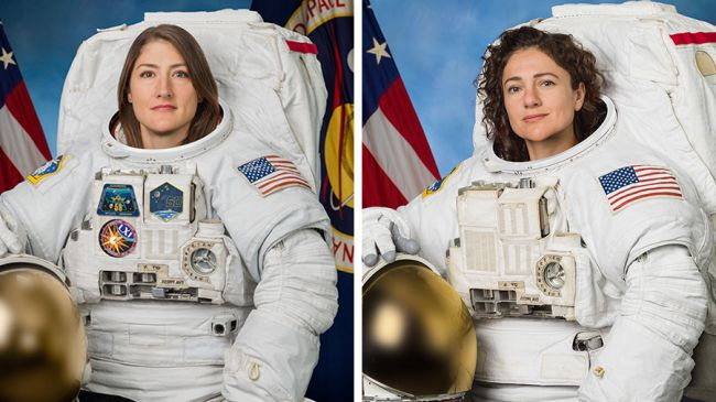 Pour la première fois, deux femmes sortent ensemble dans l'espace (vidéo)