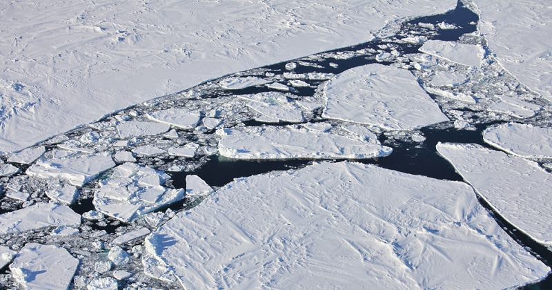 Arctique : la plus épaisse couche de glace se fissure