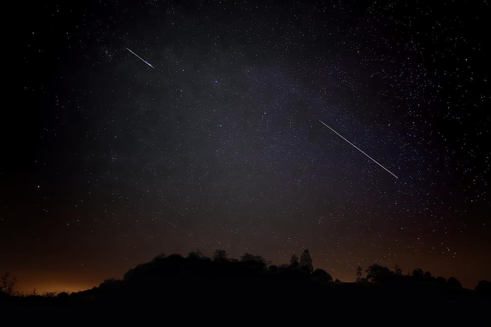 Une pluie d'étoiles filantes observable à la tombée de la nuit jusqu'au 28 avril. Crédits