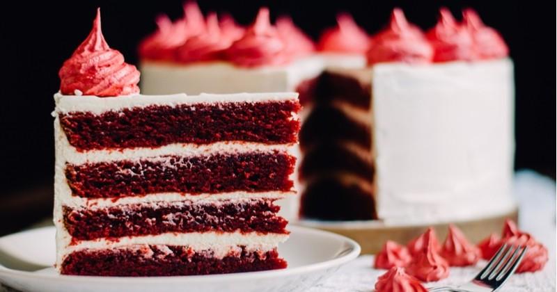 Préparez un sublime Red Velvet, un gâteau au rouge flamboyant!