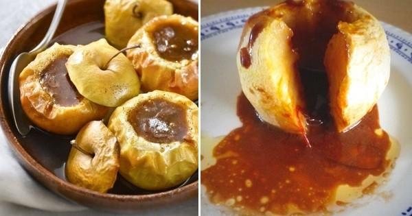 Réalisez des pommes au four au carambar, original et très gourmand !