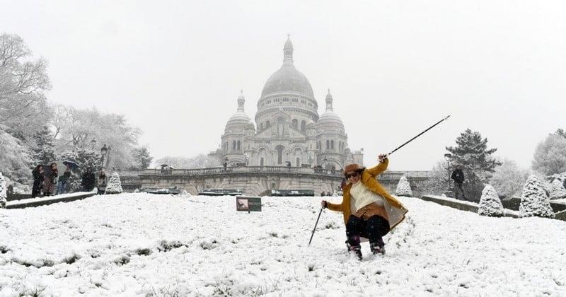 Du ski à Montmartre, les chauffeurs Uber qui gonflent leurs prix, les transports et trafic perturbés : pourquoi les Parisiens se sentent si impuissants face à tant de neige ?
