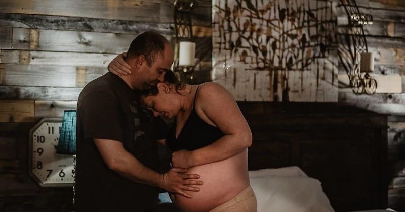 Une photographe met en lumière le rôle du père lors de l'accouchement à travers des clichés poignants