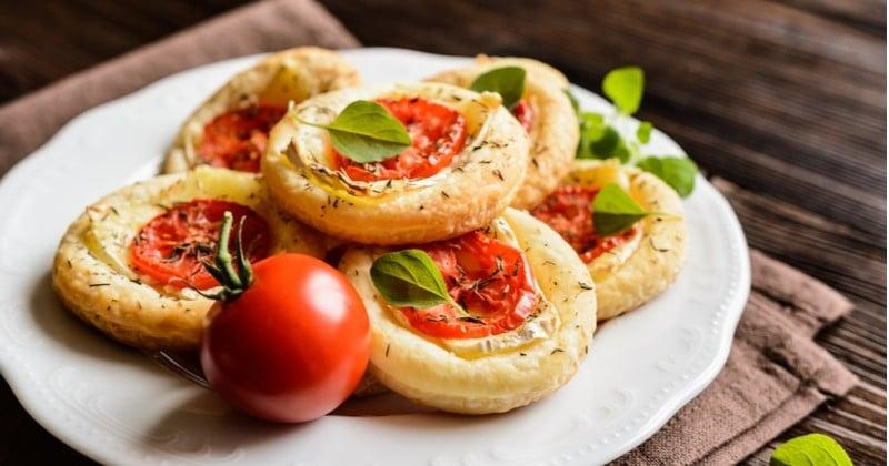 Avis aux amateurs de camembert, ces mini-pizzas sont faites pour vous