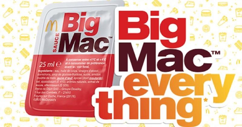 McDonald's va vendre sa sauce Big Mac à part