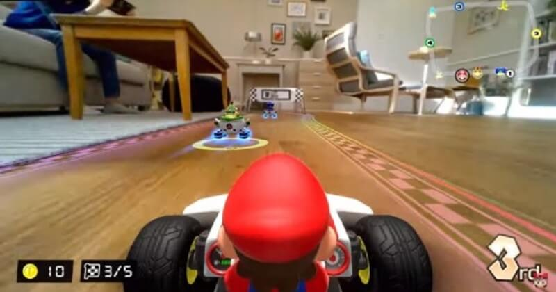 « Mario Kart Live: Home Circuit»: la nouvelle version de Mario Kart en réalité augmentée