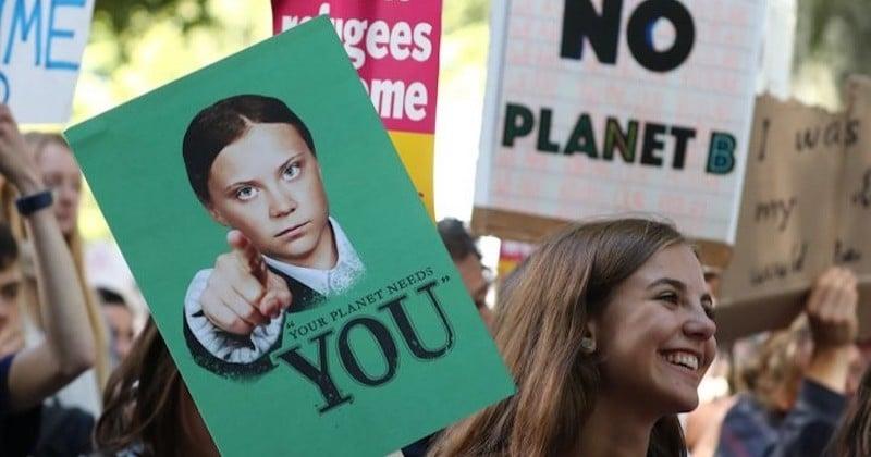Les 20 meilleurs slogans aperçus lors de la grève mondiale pour le climat
