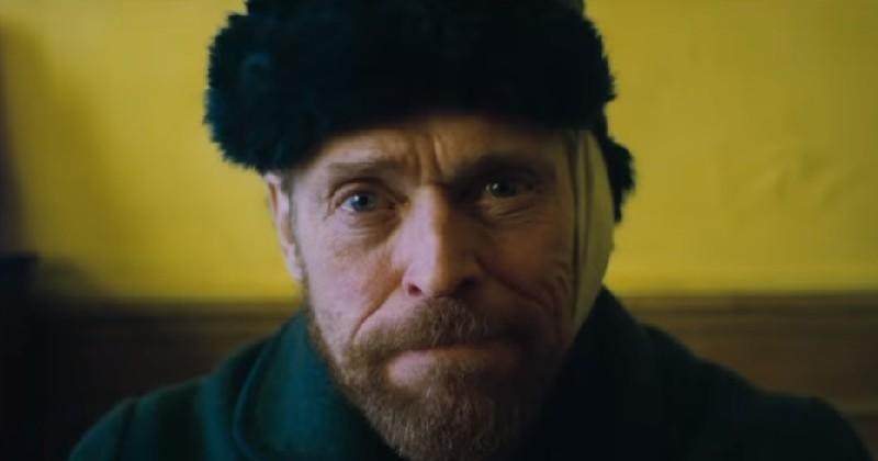 Le premier trailer du biopic sur Van Gogh dévoile Willem Dafoe en génie torturé