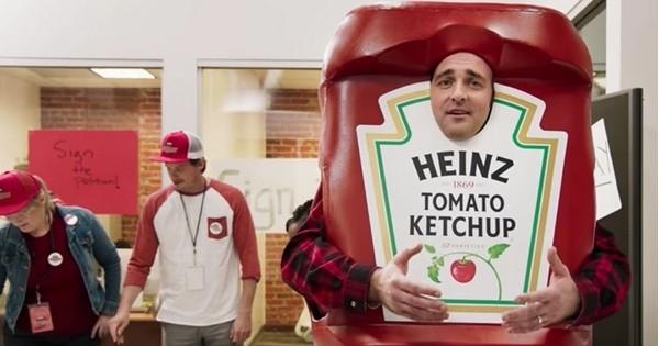 Cool! Plutôt que de dépenser 4 millions d'euros pour une publicité, Heinz offre une journée  de congés à ses 42 000 salariés