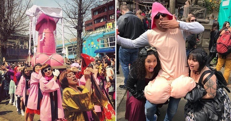 Dans les coulisses du festival du pénis 2017 au Japon à travers des photos très amusantes