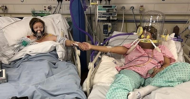 Covid-19 : la veille du décès de sa mère, cette femme avait partagé une photo bouleversante prise à ses côtés