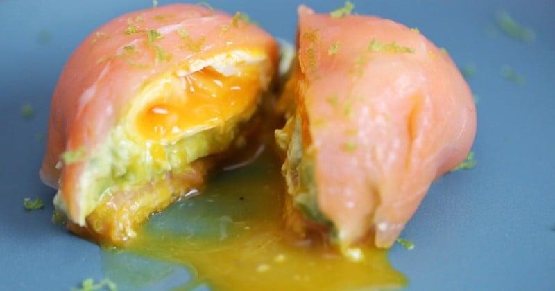 Le dôme de saumon au coeur fondant, un mets délicieux pour une mise en bouche succulente... Vous n'y résisterez pas !