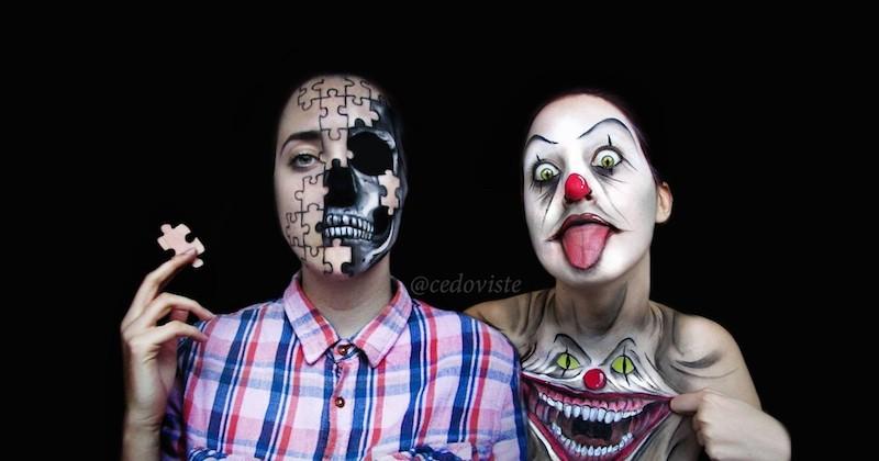 Ana Cedoviste, une artiste make-up qui transforme de manière stupéfiante
