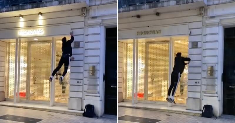 À Marseille, deux jeunes alertent sur la pollution lumineuse en se filmant la nuit en train d'éteindre les devantures de magasins