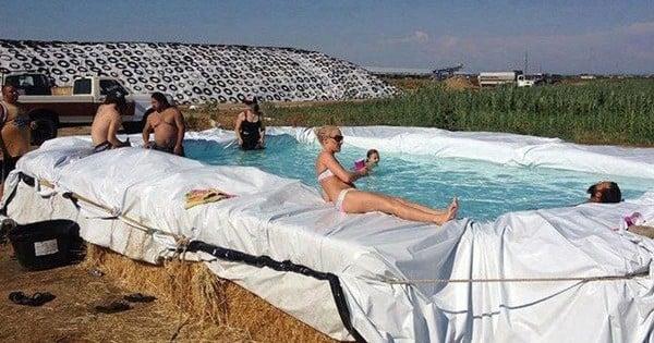 Vous n'avez pas de piscine ? Voilà quelques astuces pour en fabriquer vous-même cet été