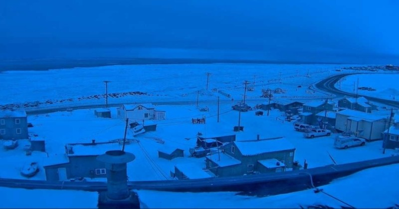 Après 65 jours de nuit polaire, cette ville d'Alaska s'apprête à revoir le soleil pour la première fois en 2019 !