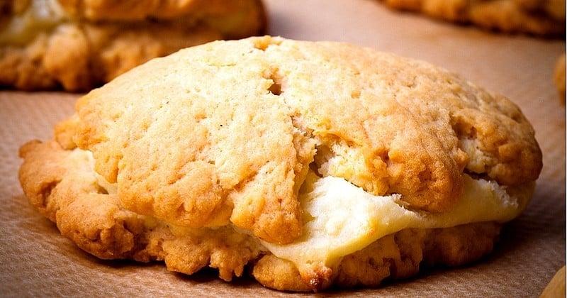Pour les becs salés tentez des cookies à la Tomme de Savoie et au parmesan!