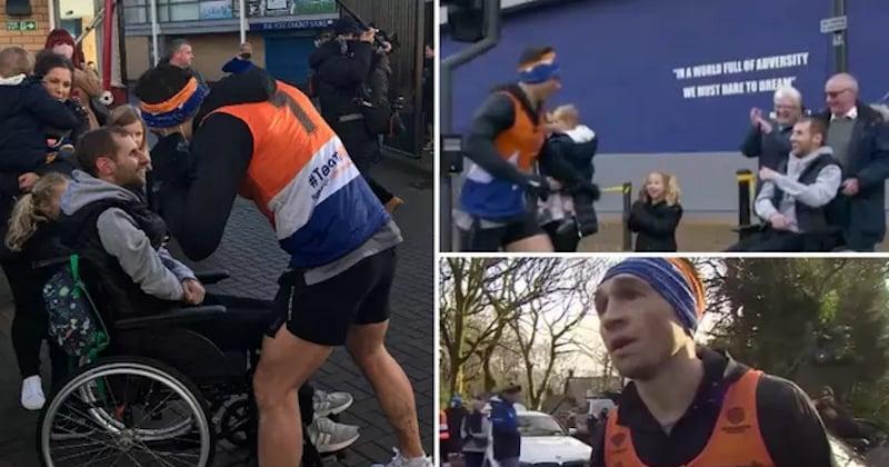 En courant 7 marathons en 7 jours, ce rugbyman a récolté un million d'euros pour la recherche contre la maladie de Charcot