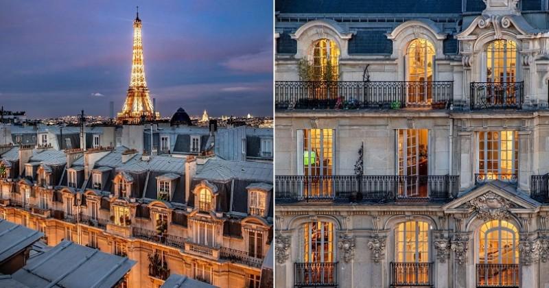 Découvrez le charme incroyable de Paris à travers ses toits, ses appartements haussmanniens et ses monuments