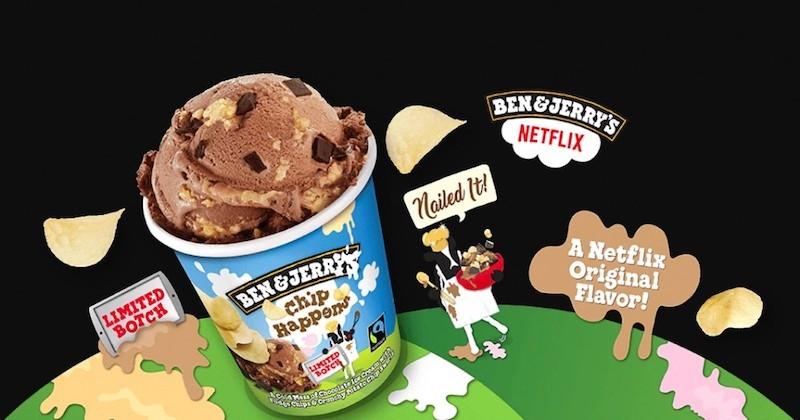 Ben & Jerry's ont lancé une crème glacée aux chips !