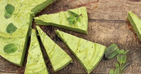 On adore cette recette... de cheesecake mojito, le meilleur des desserts !