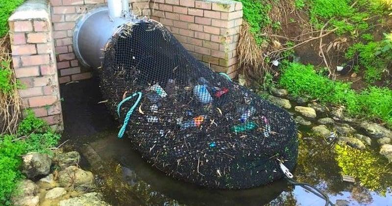 Australie : des collecteurs de pluie à la sortie des égouts pour empêcher les déchets de finir dans l'océan