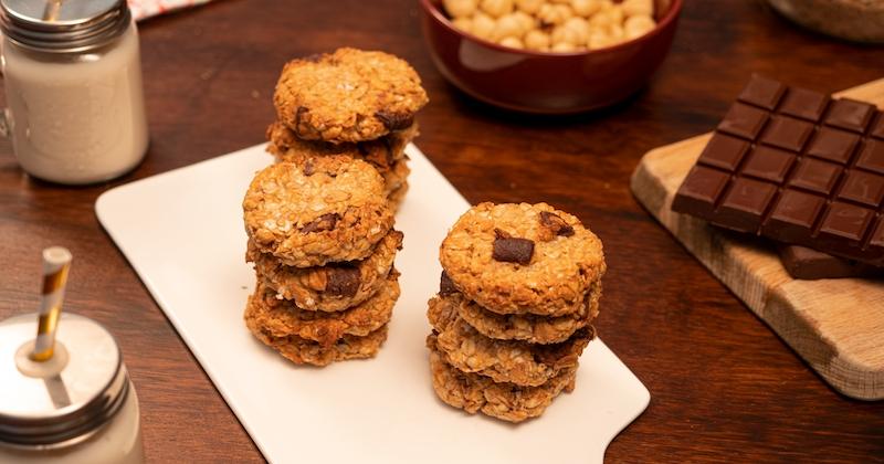 cookies muesli chocolat
