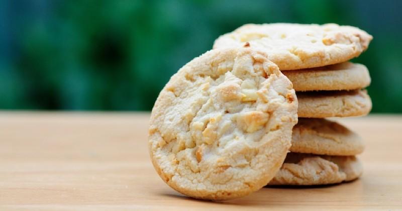 Cookies au chocolat blanc Recette