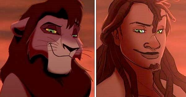 Cet artiste a imaginé à quoi ressembleraient les personnages de Disney s'ils étaient humains ! Je les imaginais vraiment comme ça en plus...