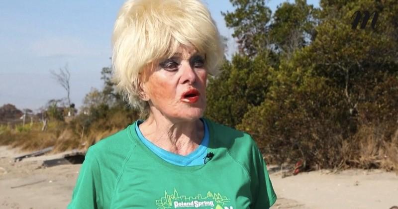 Âgée de 85 ans, Ginette Bedard boucle le marathon de New York