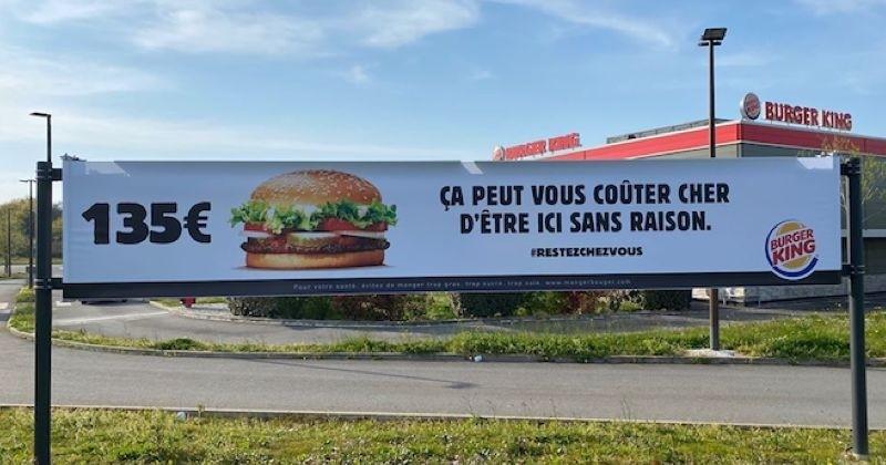 Burger King vous met en garde contre les burgers à 135 euros