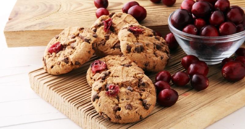 cookies aux cerises