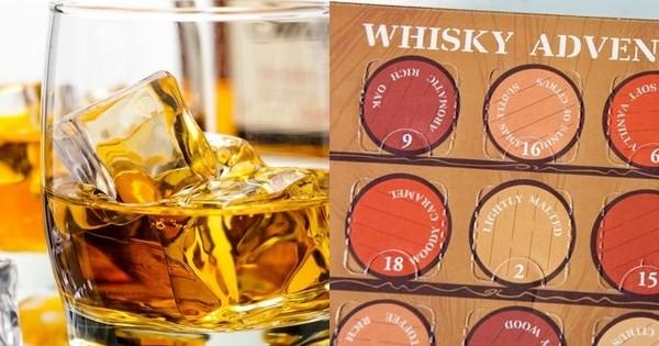 Après le calendrier de l'Avent de bières... succombez à celui des whiskies les plus rares du monde !