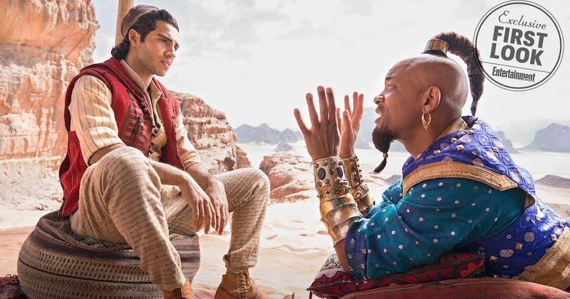 Aladdin : Disney dévoile des premières images avec Will Smith en génie