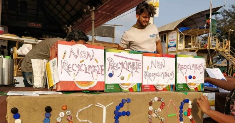 À Goa, des «bars à déchets» offrent des bières gratuites...contre des ordures !